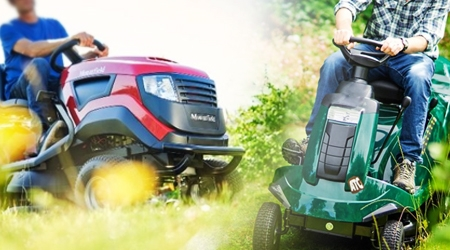 Ride On Mowers and Garden Tractors