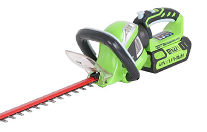 Battery-Powered Cordless Hedgetrimmers