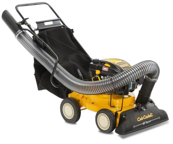 Wheeled Lawn & Litter Vacuums and Leaf Sweepers