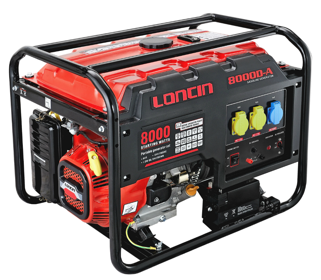 Loncin LC8000D AS Petrol Powered Generator