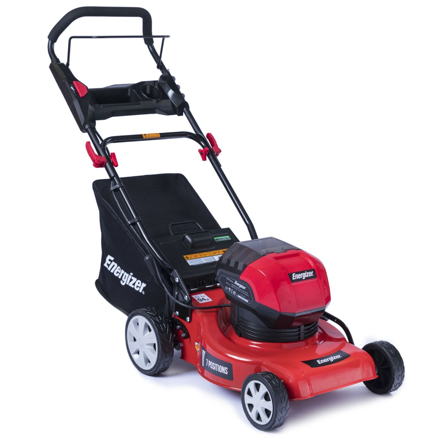 Energizer® EZ40TDE40N 40v 3-in-1 Cordless Lawnmower (with Battery & Charger)
