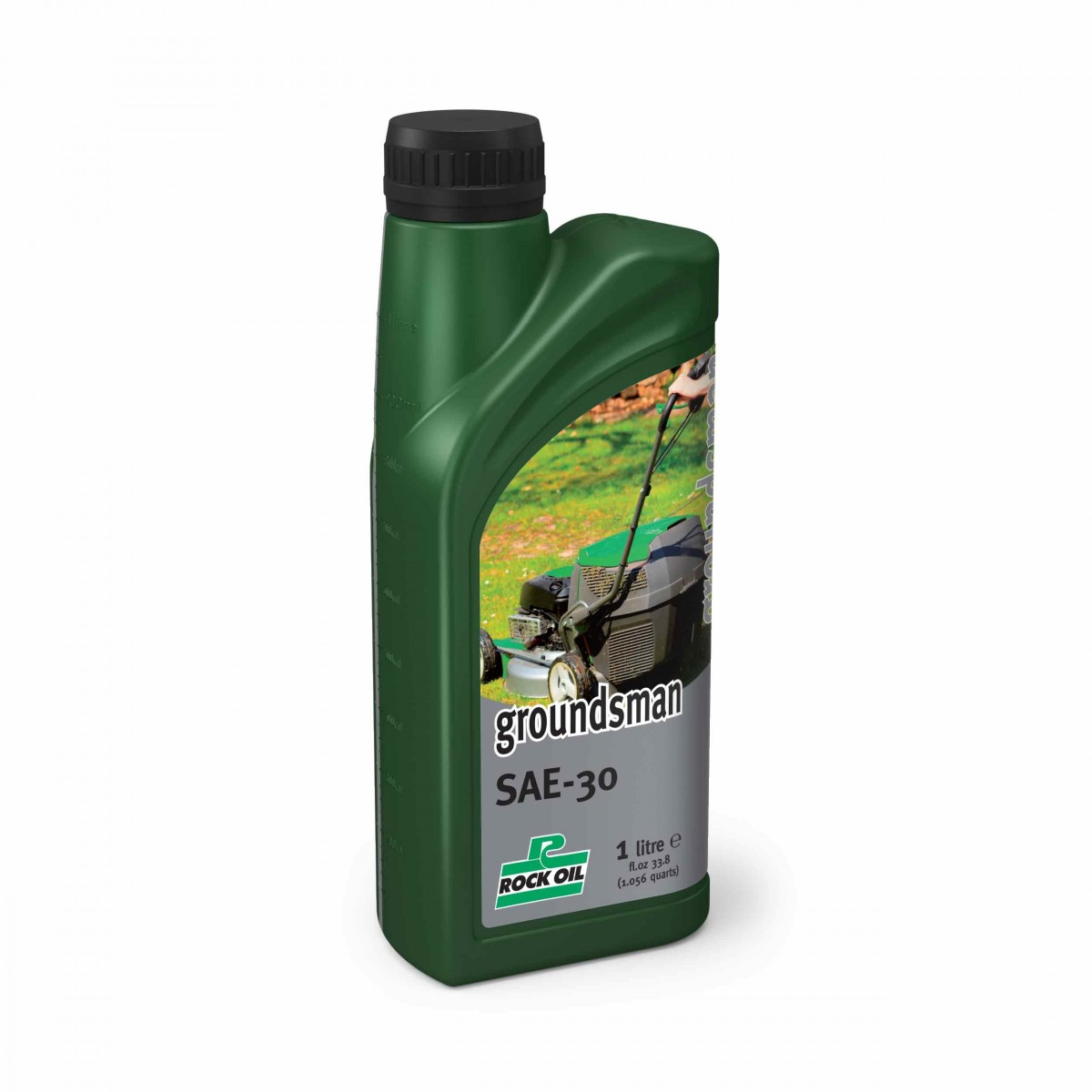 Groundsman Sae 30 Oil 1 Litre Bottle - Lawn Mower and Machin OIl (Accessories - Oil)