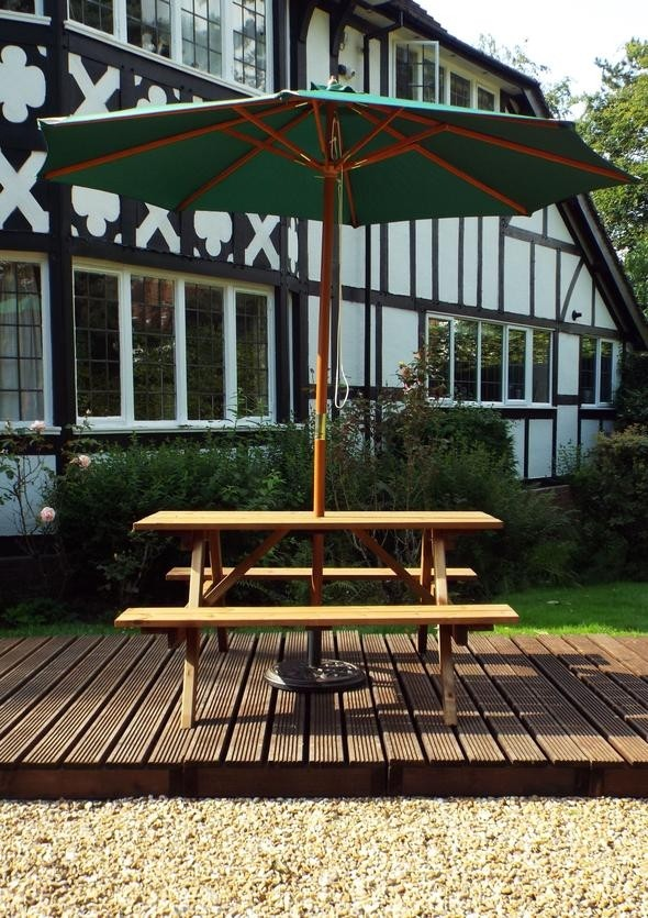 Charles Taylor - Six Seater Picnic Bench - Full Assembled ( GS11) (Garden Furniture)