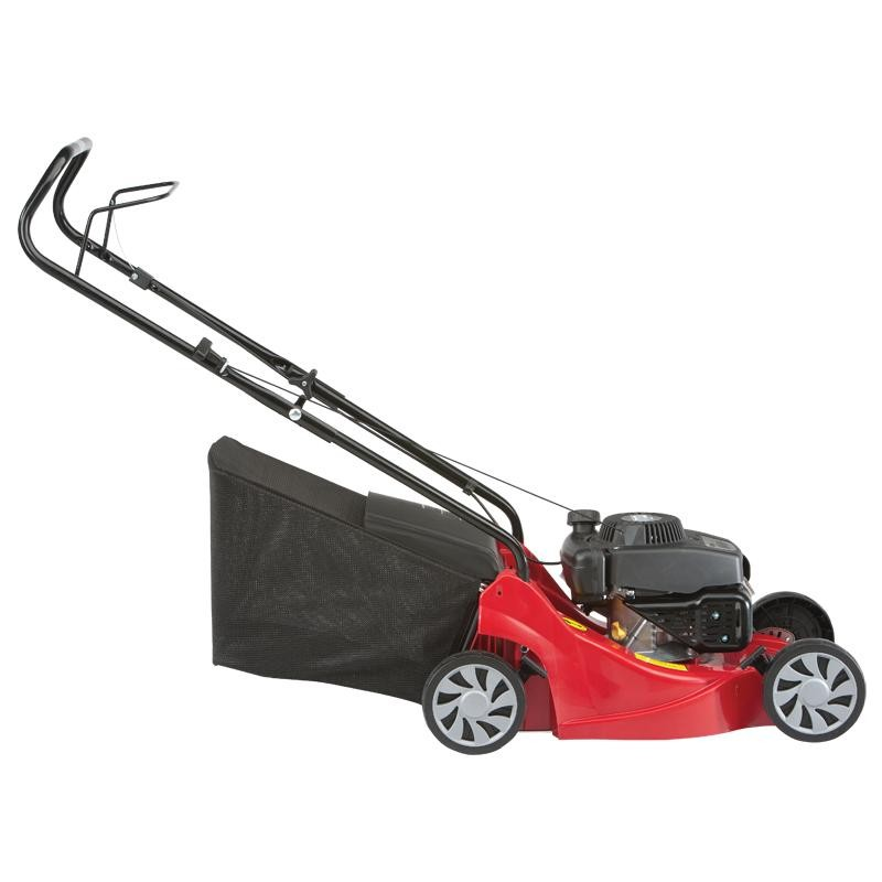Mountfield HP414 Hand-Propelled Petrol Lawn Mower Side Right View