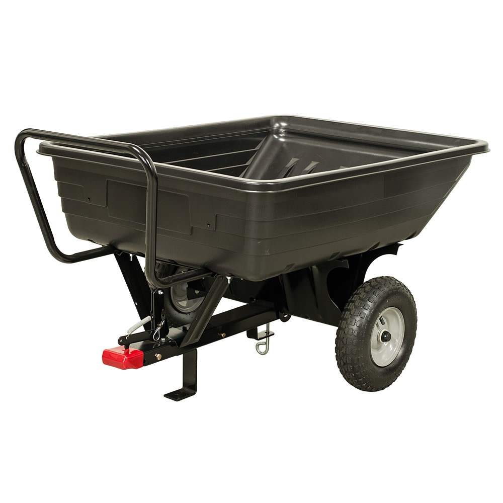 Agri-Fab 45-0345 159kg Tow/Push Poly Tipping-Cart