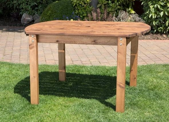 Charles Taylor  - Small Rectangular Table- Scandinavian Red Wood  (HB28)