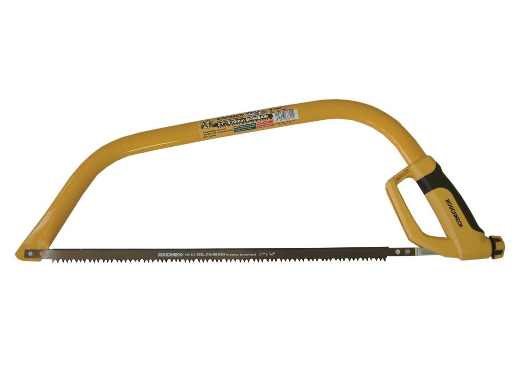 """Roughneck 24"""" Bow Saw fitted with Small Straight Teeth"""
