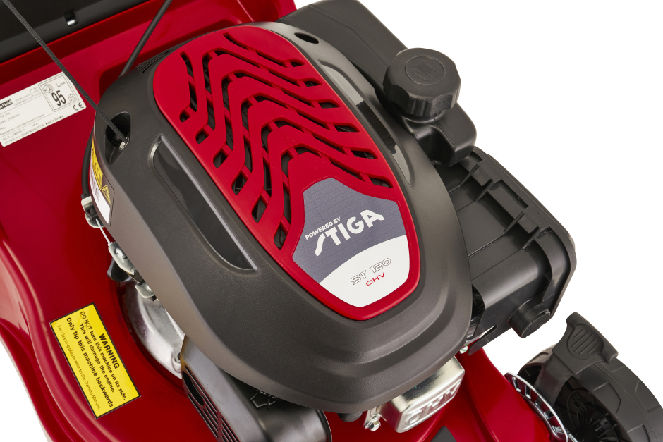 Mountfield HP41 Petrol Rotary Hand-Propelled Lawnmower (Special Offer) (Lawnmowers – Petrol Four Wheel Rotary Lawn Mowers)