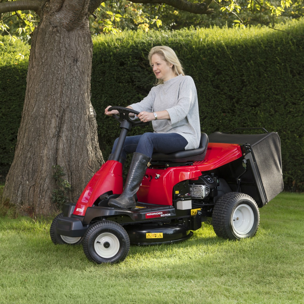 Lawnflite Mini Rider 60RDE Ride-On Mower