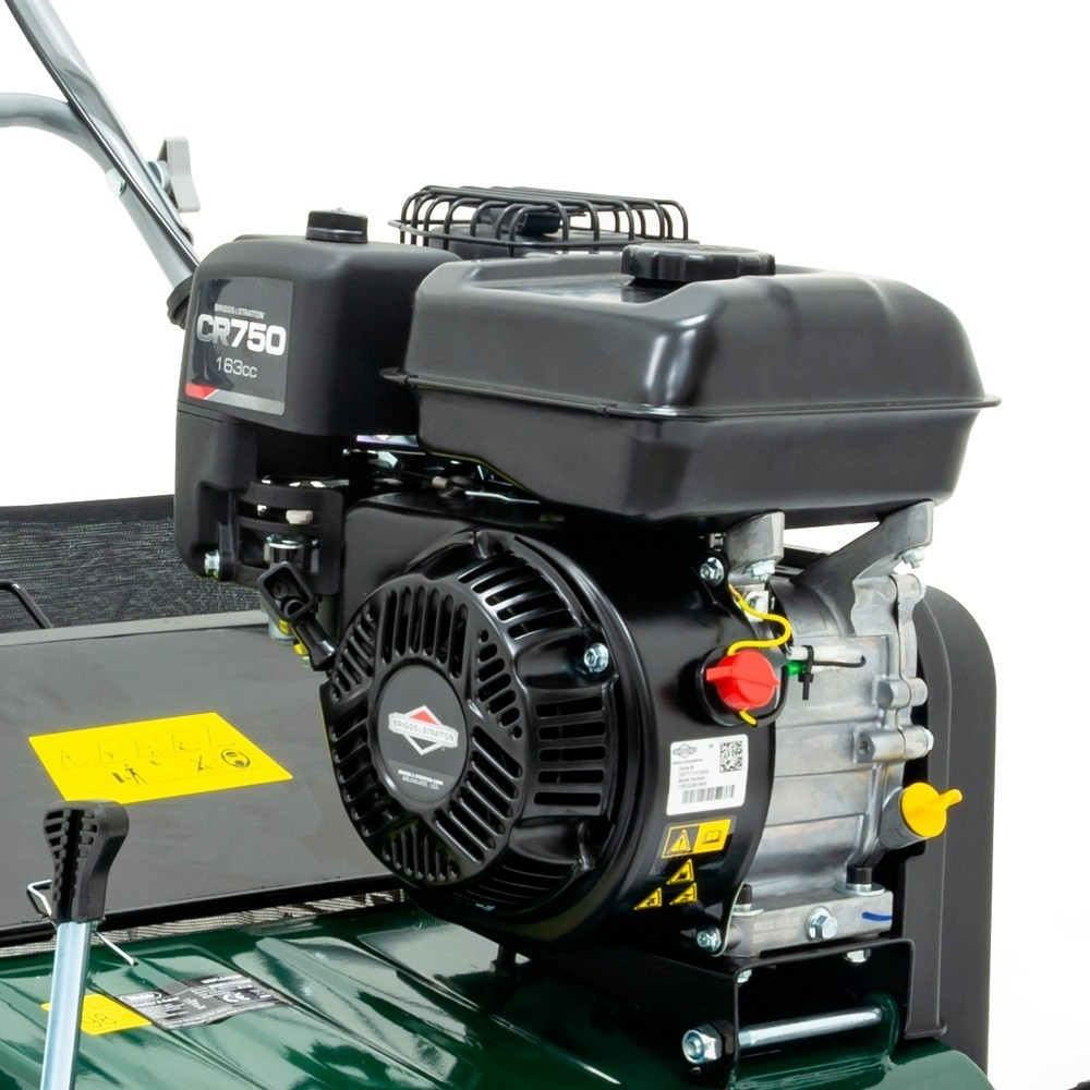Webb Garden Petrol Scarifier and Raker for Lawns