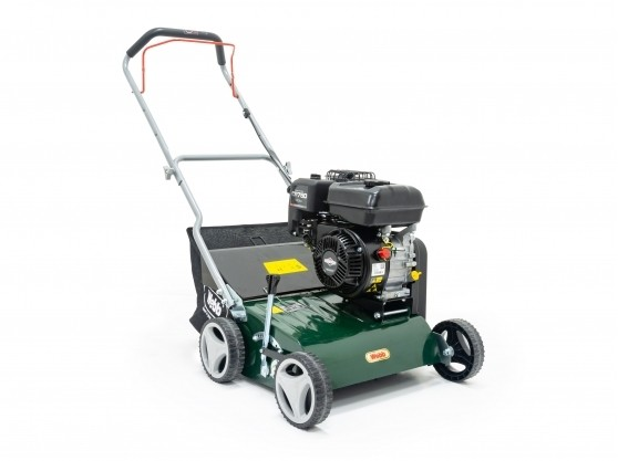 Webb Petrol Scarifier and Raker for Lawns