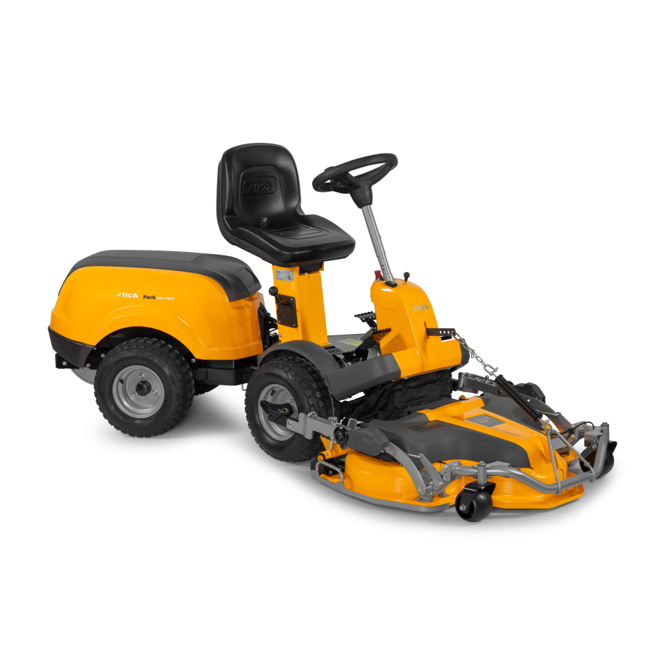 Stiga Park 340 PWX Ride-On Lawnmower (Excluding Deck)
