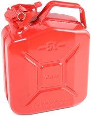 F-5200 Steel Gerry Can (5 Litre - Red)