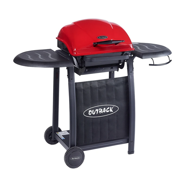 NEW Outback Omega 201 Charcoal Barbeque (Red)