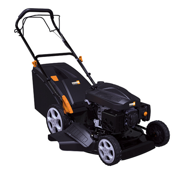 Feider 5096-AC 4-in-1 Hi-Wheel Self-Propelled Petrol Lawnmower