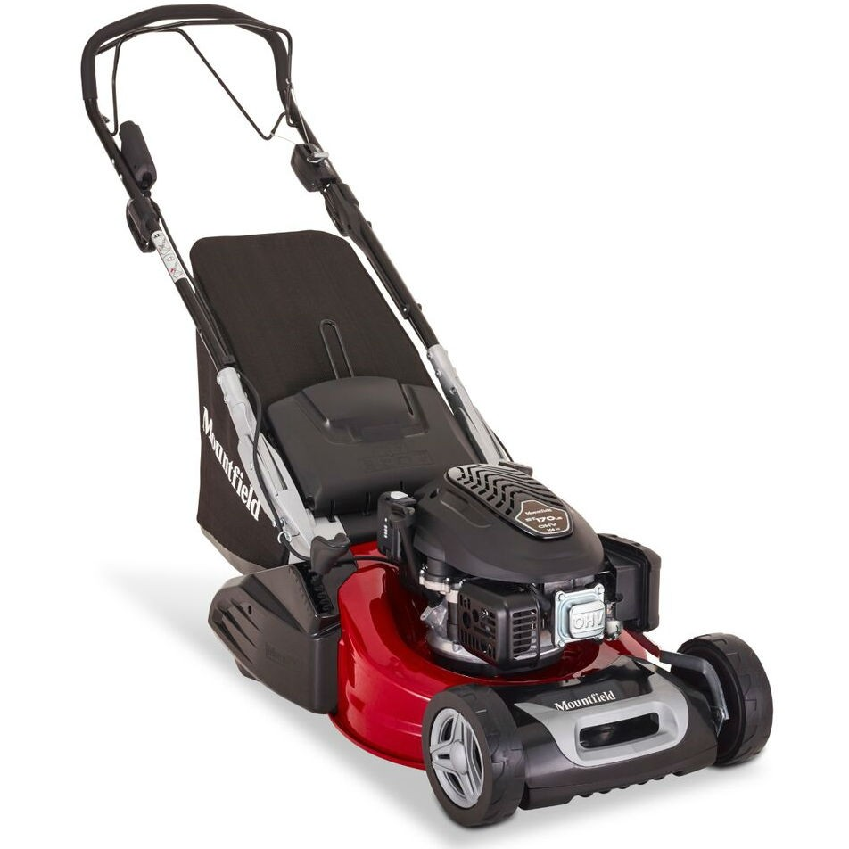 Mountfield S501R-VLS Variable-Speed Petrol Rear-Roller Lawnmower (with Electric Start)