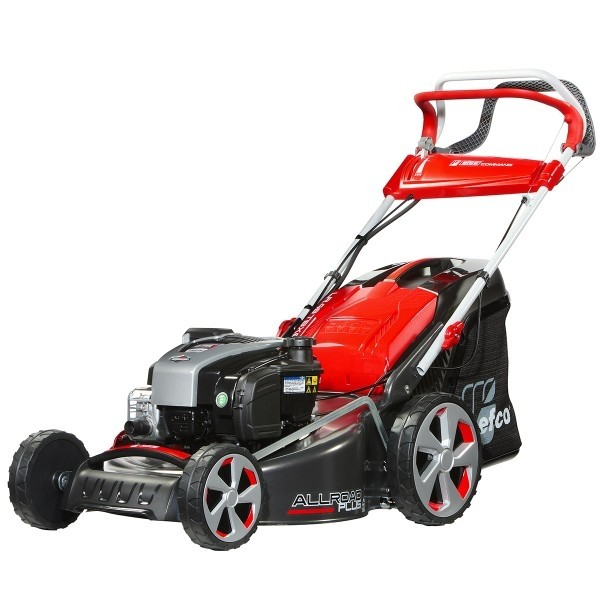 Efco LR48-TBXE AllRoad Plus-4 4-in-1 Self-Propelled Petrol Lawnmower with Electric Start