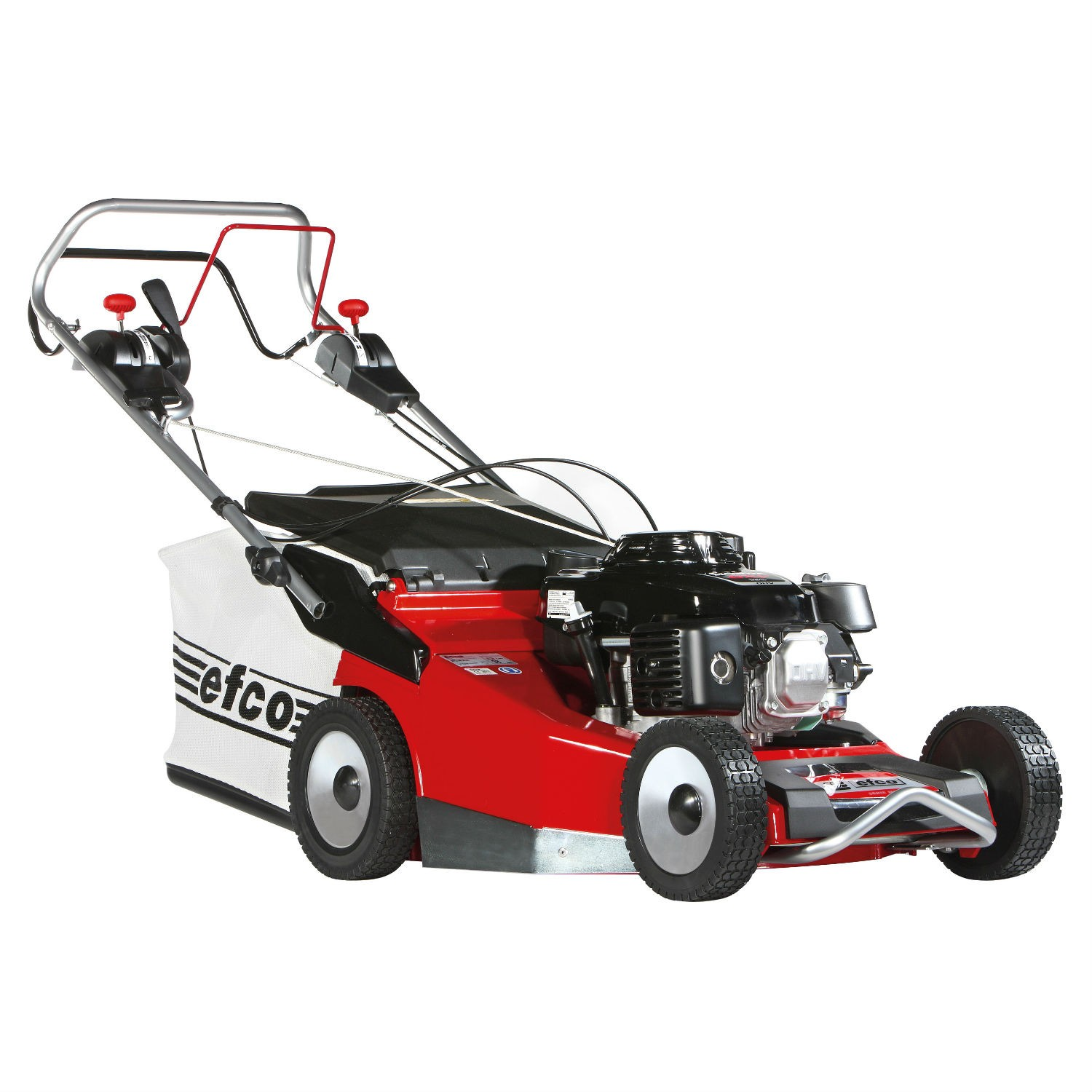 Efco MR55-HXF Self-Propelled Petrol Lawn Mower (Aluminium Deck)