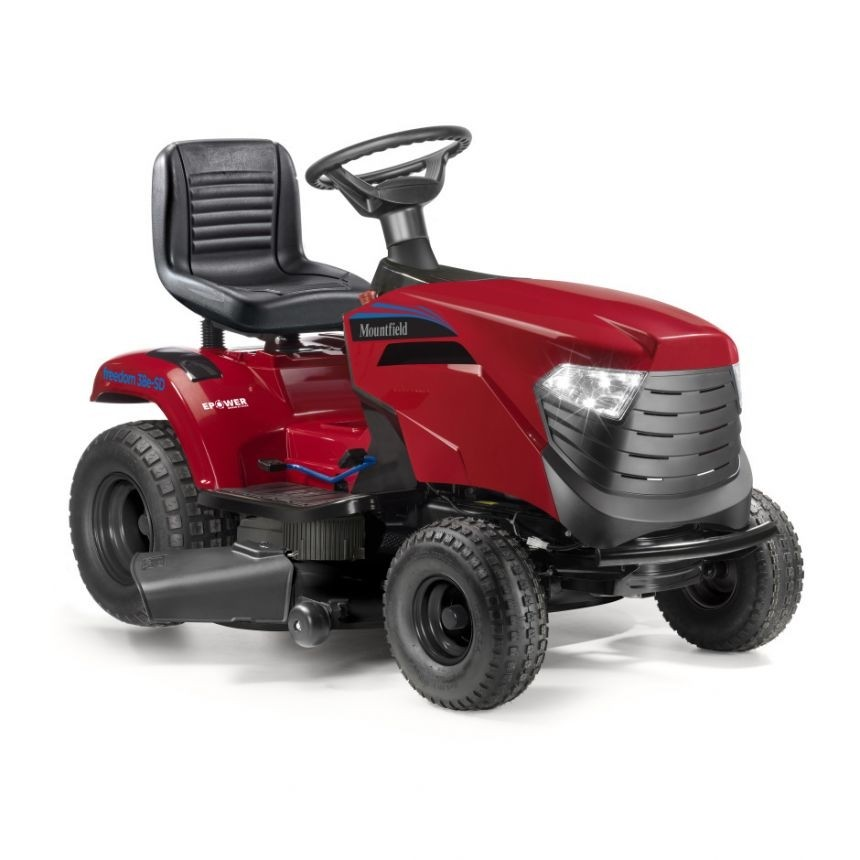 Mountfield Freedom 38e-SD Electric Battery Side Discharge Garden Tractor   - Powered Lithhium-Ion Battery