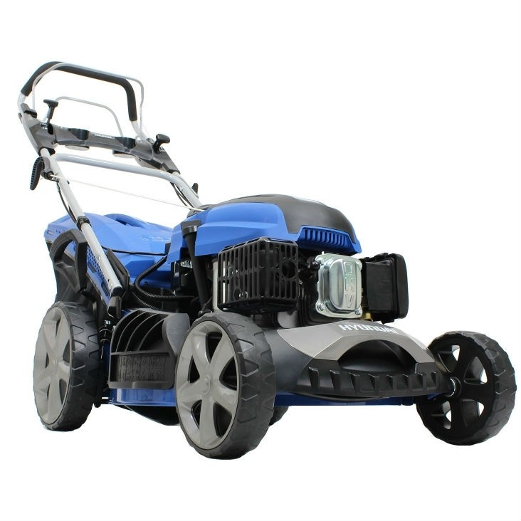 Hyundai HYM510SPE 4-in-1 Variable-Speed Petrol Lawnmower with Electric Start