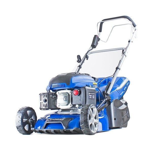 Hyundai HYM430SPER Self-Propelled Petrol Lawnmower with Electric Start  17'' /43cm