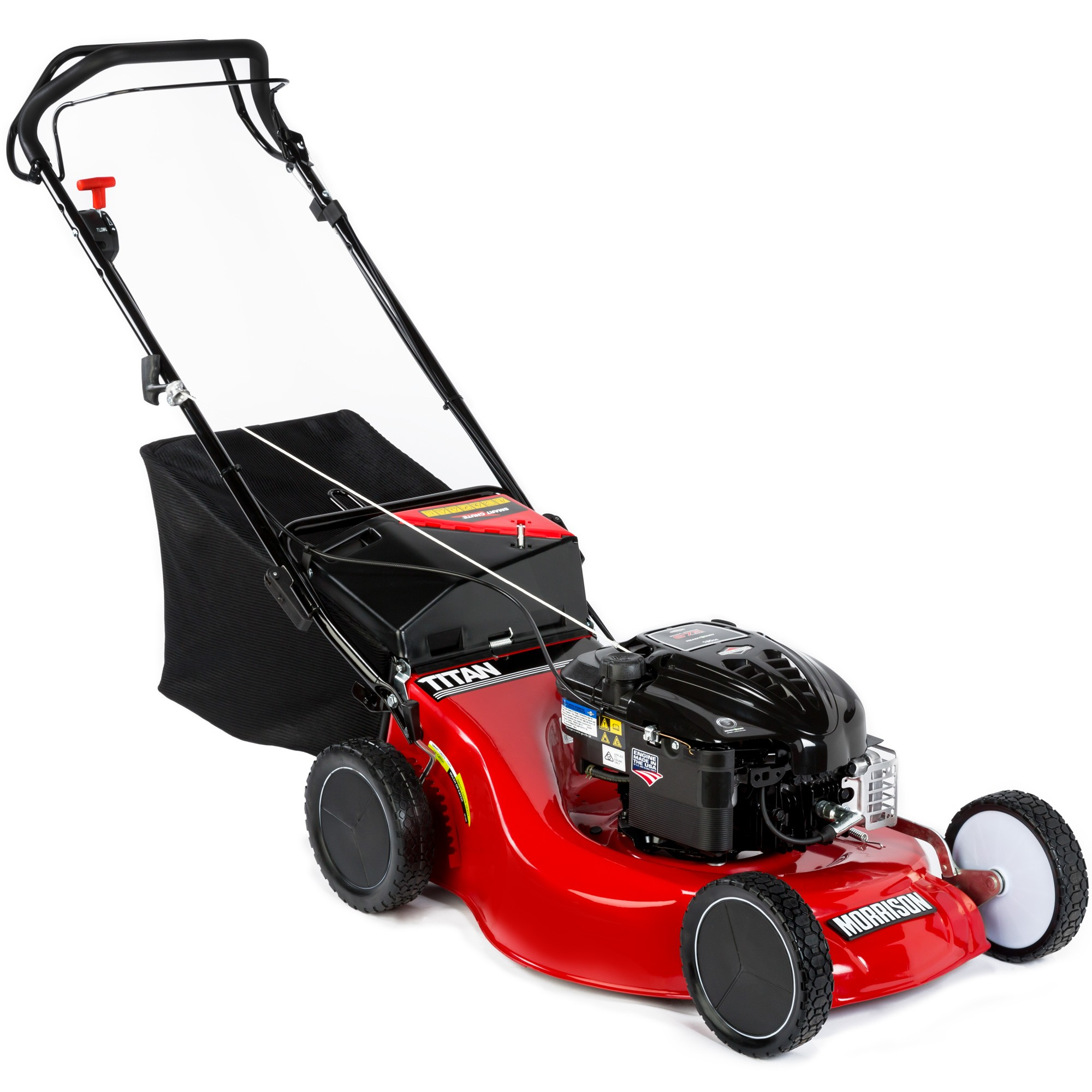 Morrison Titan 4-in-1 Self-Propelled Petrol Lawnmower