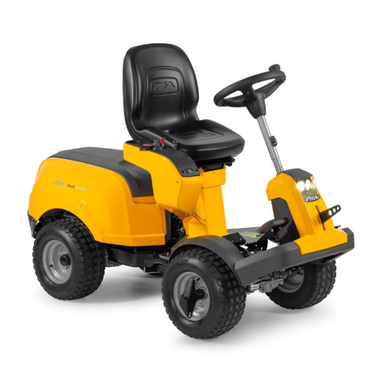 Stiga Park 640 PWX Ride-On Lawnmower Excluding Deck