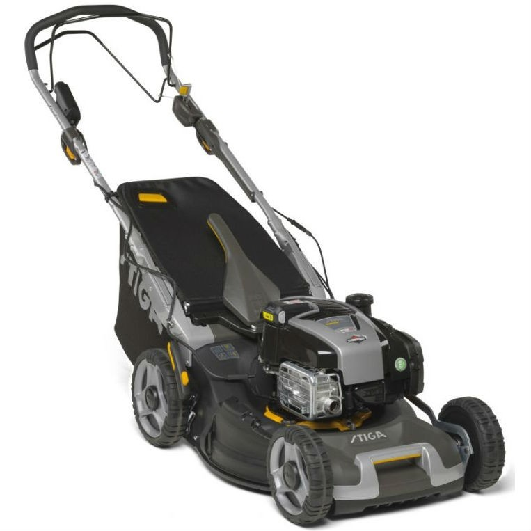 Stiga Twinclip 50 SVEQ B 4-in-1 Variable-Speed Lawnmower with Electric Start