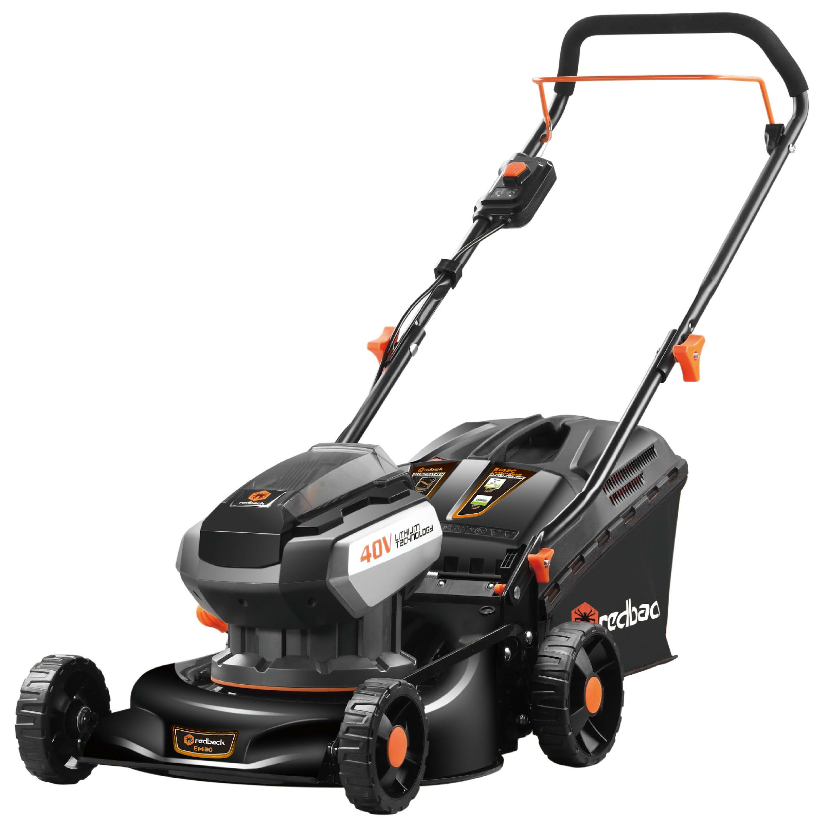 Redback E142CV-Set Cordless Lawnmower (Special Offer)