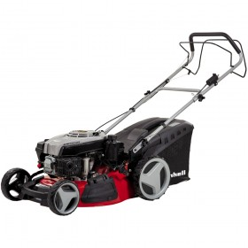 Einhell GC-PM 51/2 SHW-E 4-in-1 Hi-Wheel Self-Propelled Petrol Lawn Mower (with Electric Start)