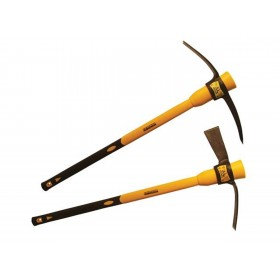 Roughneck 5lb Pick & Mattock Twin Pack with 2 heads and 2 Fibre Glass Handle (64-104)