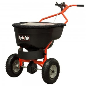 Agri-Fab Pro Salt / Broadcast Spreader – 130lbs Push (45-0502)