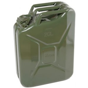 20 Litre Khaki Steel Jerry Can (F-2200)