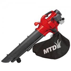 MTD BV3000G Petrol Mulcher Blower-Vac with Quick-Shift Lever