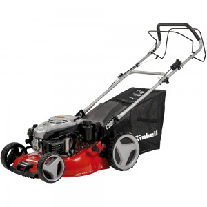 Einhell GC-PM 46/2 SHW-E Hi-Wheel Self-Propelled Petrol Lawn Mower with Electric Key Start