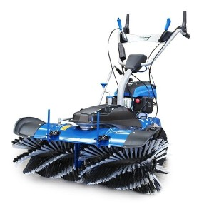 Hyundai Self Propelled Petrol Yard Sweeper Powerbrush 100cm 173cc - HYSW1000 (Powered Sweepers)