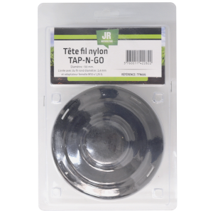 13cm Twin-Line Tap & Go Cutter-Head for 30-35cc Brushcutters - Contains 2.4mm Round Line- JR TFN005