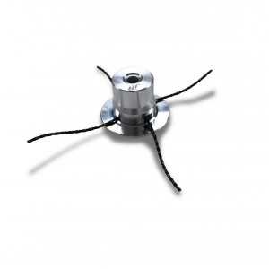 Universal Aluminium Trimmer-Head for 30cc+ Brushcutters - Suitable for 3.3 to 4.7mm Line -JR TFN012