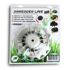 Universal Pro-Combi Quad Line-Head with Blade for 35-50cc Brushcutters - JR TFN041