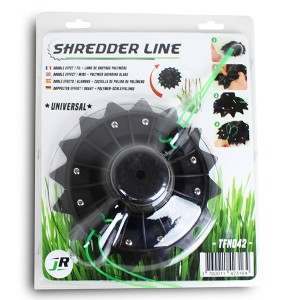 Universal Pro Combi Quad Line-Head with Blade for 30-40cc Brushcutters - JR TFN042