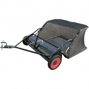 "Lawnflite LS38 38"" Tow-Behind Leaf Sweeper"