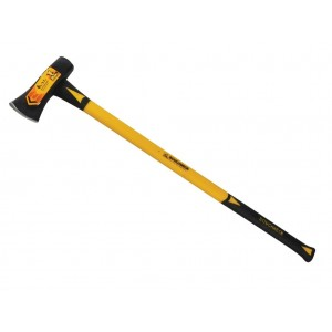 Roughneck 6lb Splitting Maul with Double Injected Fibre Glass Handle (65-660)