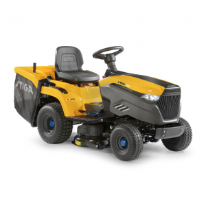 Stiga e-Ride C300 Battery Collecting Lawn Tractors c/w 84cm (33'') Deck Powered Lithhium-Ion Battery