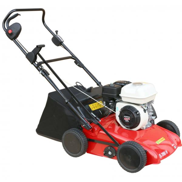 Apache S390H-GP160 Petrol Scarifier with collector