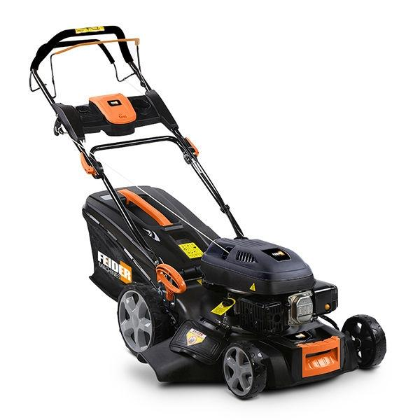 Feider T4640ES 4-in-1 Self-Propelled Petrol Lawnmower with Electric Start