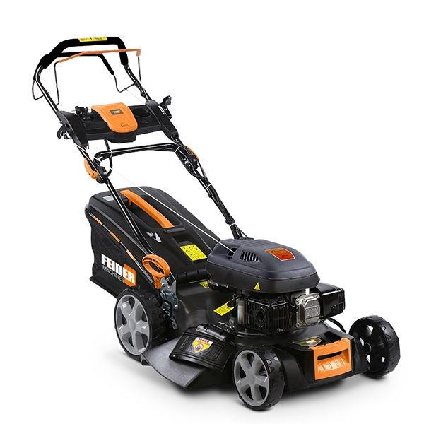 Feider T5175ES 4-in-1 Self-Propelled Petrol Lawnmower with Electric Start