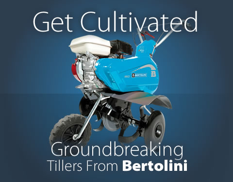 Get Cultivated - Groundbreaking Tillers From Bertolini