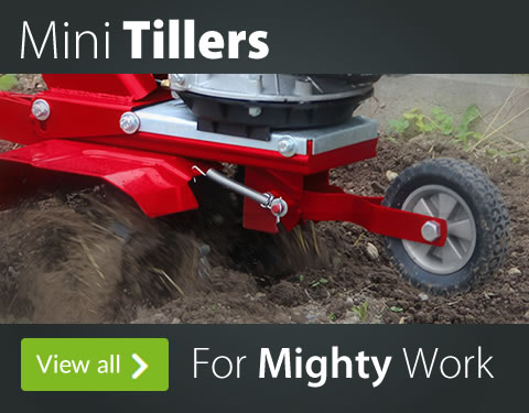 Mini Tillers For Mighty Work