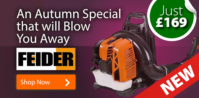 Pro-style Backpack Leaf Blower