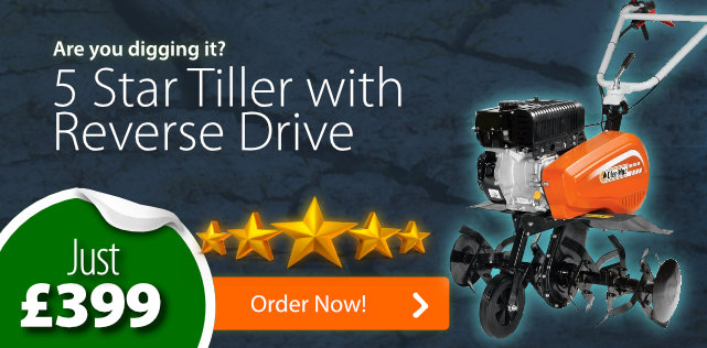 5 Star Tiller with Reverse Drive - Just £399!